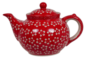 The 1.5 Liter Teapot (Modern Red)