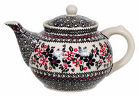 The 1.5 Liter Teapot (Duet in Black & Red)