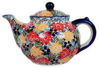 The 1.5 Liter Teapot (Evening Bouquet)