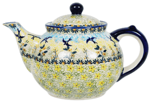 The 1.5 Liter Teapot (Soaring Swallows)