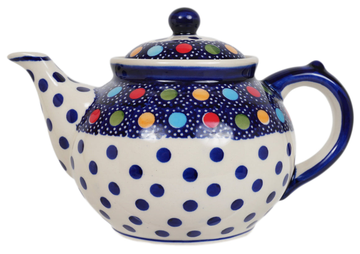 The 1.5 Liter Teapot (Neon Dots)