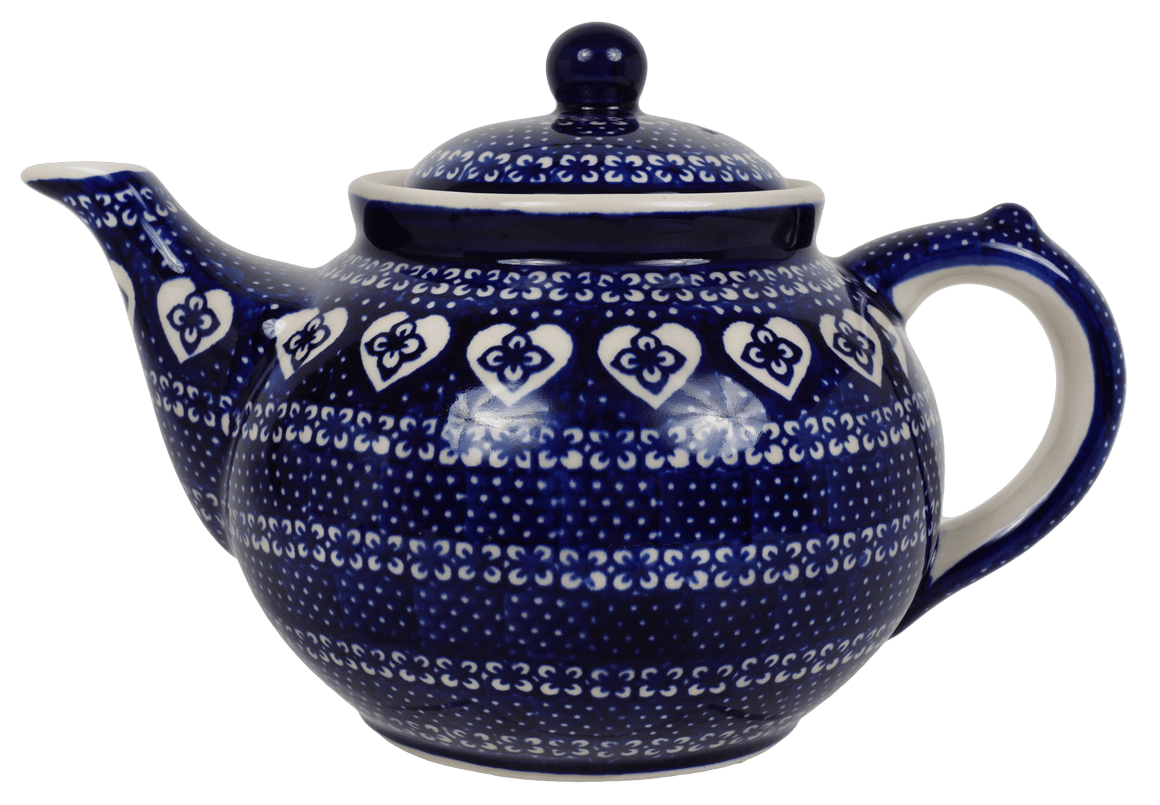 The 1.5 Liter Teapot (Nordic Hearts)