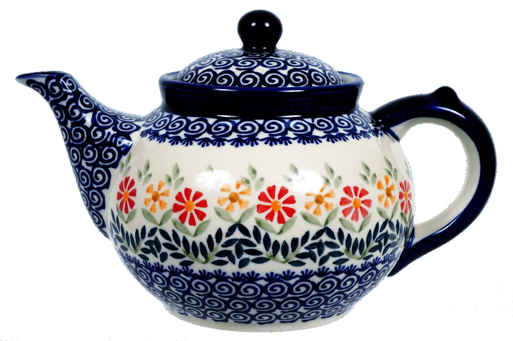 The 1.5 Liter Teapot (Flower Power)