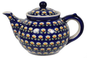The 1.5 Liter Teapot (Tulip Azul)