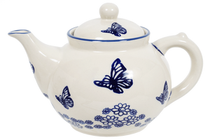The 1.5 Liter Teapot (Butterfly Garden)