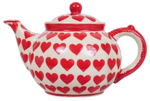 The 1.5 Liter Teapot (Whole Hearted Red)