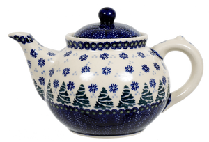 The 1.5 Liter Teapot (Snowy Pines)
