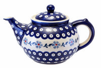 The 1.5 Liter Teapot (Periwinkle Chain)
