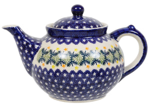 The 1.5 Liter Teapot (Holiday Stars)