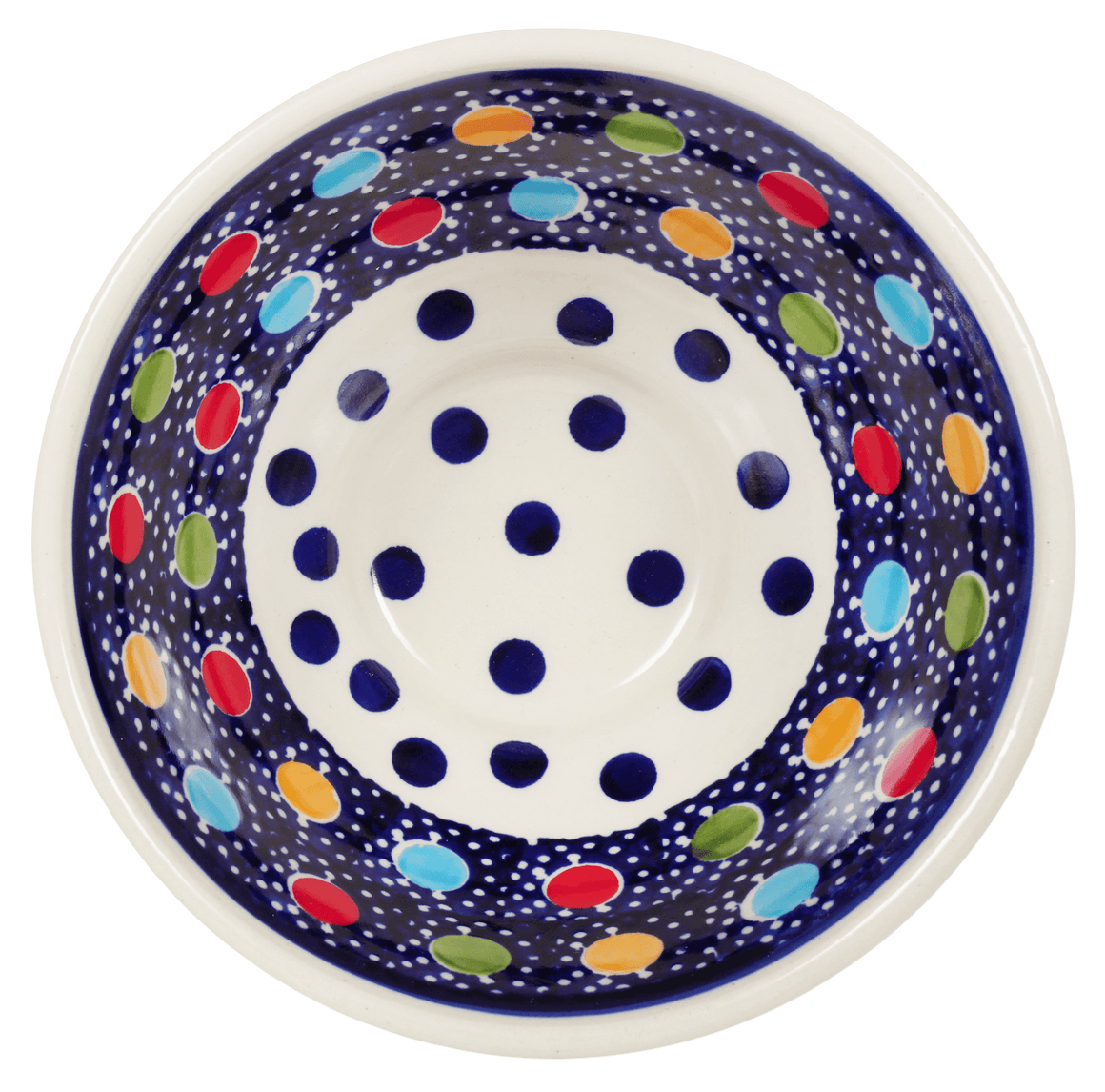 "5.5"" Fancy Bowl (Neon Dots)"
