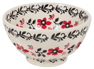 "5.5"" Fancy Bowl (Scarlet Garden)"