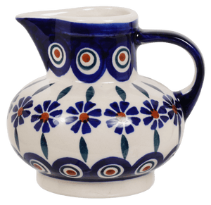 Big Belly Creamer (Floral Peacock)