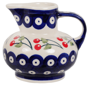 Big Belly Creamer (Cherry Dot)