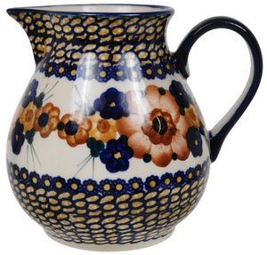 "1 Liter ""Basia"" Pitcher (Bouquet in a Basket)"