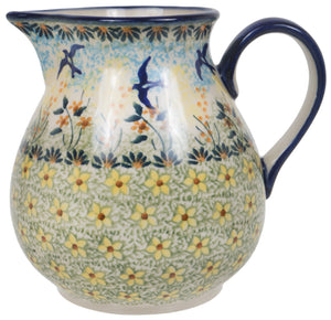"1 Liter ""Basia"" Pitcher (Soaring Swallows)"