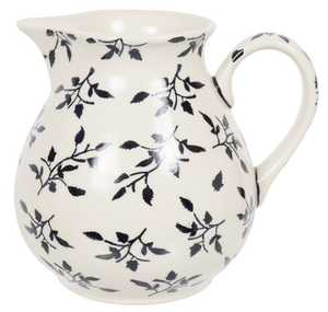 "1 Liter ""Basia"" Pitcher (Black Spray)"