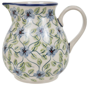 "1 Liter ""Basia"" Pitcher (Periwinkle Vine)"