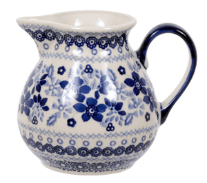 "0.5 Liter ""Basia"" Pitcher (Duet in Blue)"