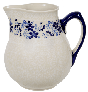 The 3 Liter Pitcher (Duet Blue Wreath A)