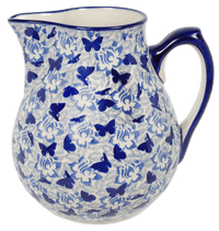 The 3 Liter Pitcher (Dusty Blue Butterflies) | D028U-AS56