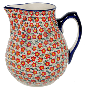The 3 Liter Pitcher (Floral Revival Red)