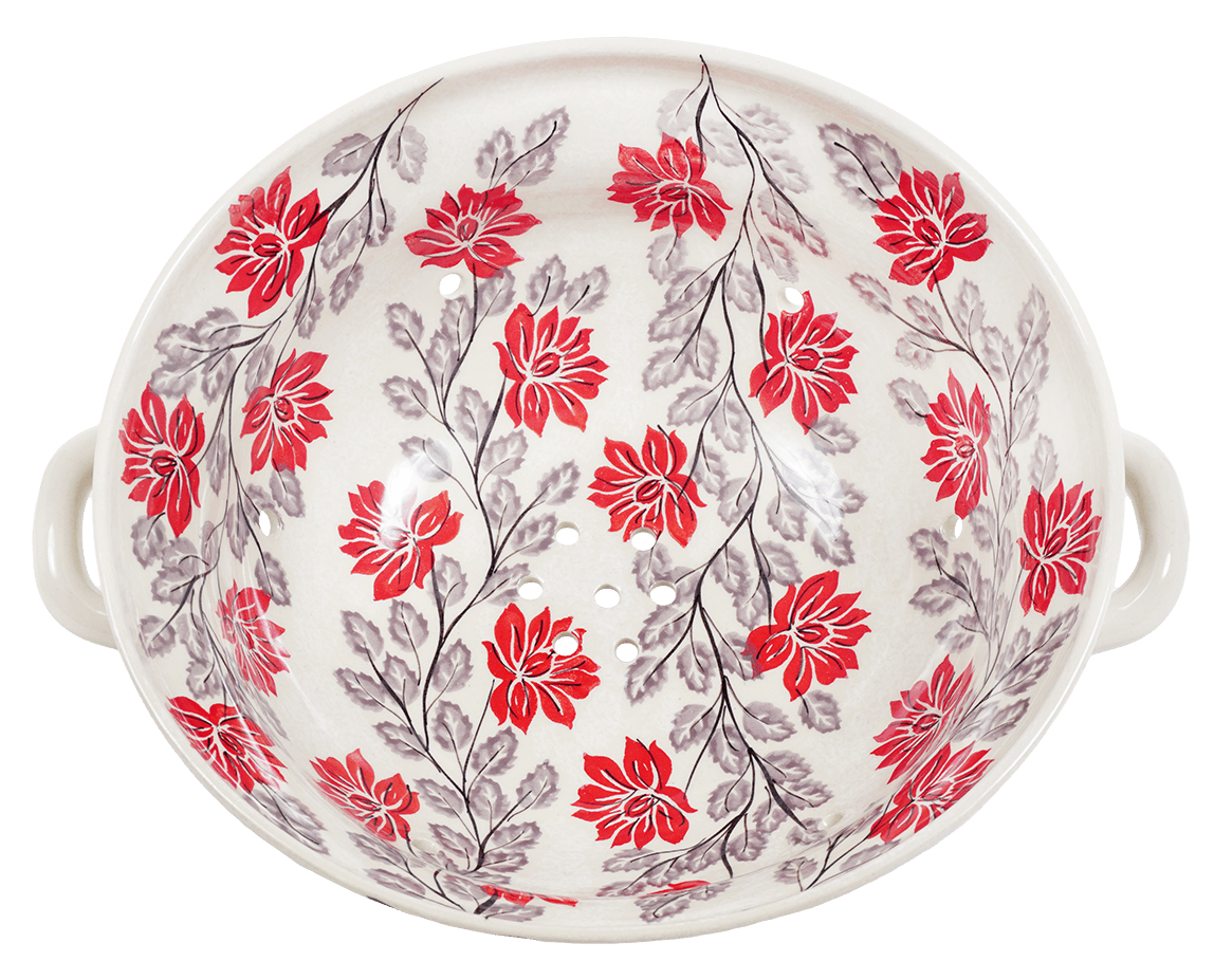The Boleslawiec Berry Bowl (Evening Blossoms)