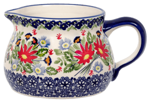 The 1 Liter Wide Mouth Pitcher (Floral Fantasy)