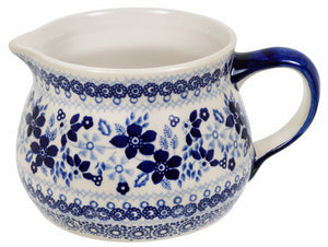 The 1 Liter Wide Mouth Pitcher (Duet in Blue)