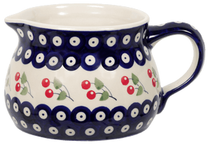 The 1 Liter Wide Mouth Pitcher (Cherry Dot)