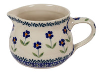 The 1/2 L Wide Mouth Pitcher (Forget Me Not)