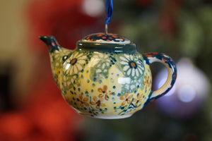 Teapot Ornament (Sunshine Grotto)