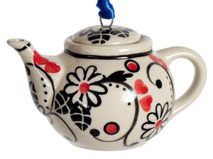 Teapot Ornament (Night Garden)