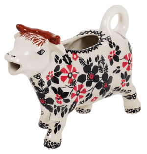 Cow Creamer (Duet in Black & Red)
