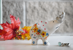 Elephant Figurine (Garden Delight)