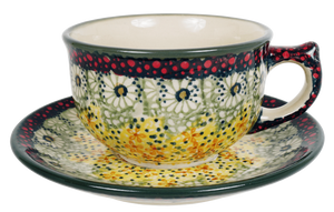 Canadian Cup and Saucer (Sunshine Grotto)