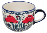 Large Latte/Soup Cups (Poppy Paradise) | F044S-PD01