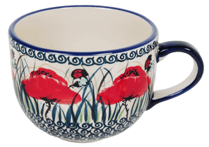 Large Latte/Soup Cups (Poppy Paradise)