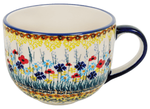 Large Latte/Soup Cups (Sunlit Wildflowers)