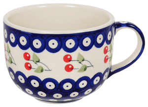 Large Latte/Soup Cups (Cherry Dot)
