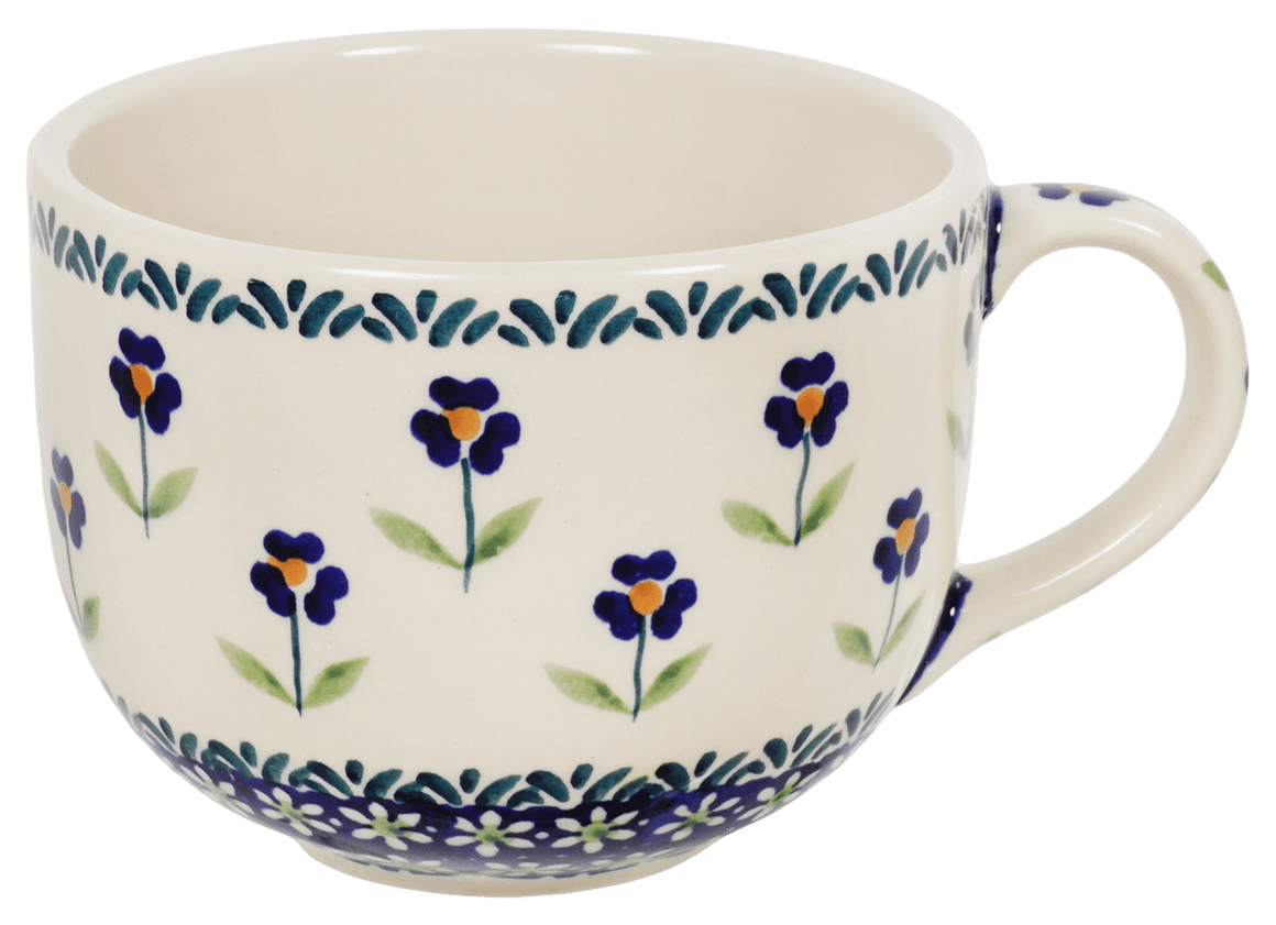 Large Latte/Soup Cups (Forget Me Not)