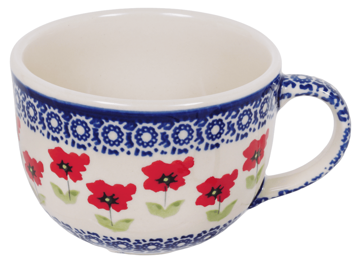 Large Latte/Soup Cups (Poppy Garden)