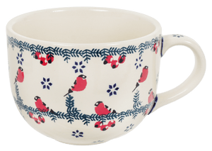 Large Latte/Soup Cups (Red Bird)