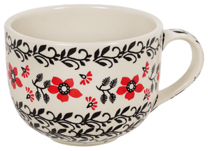 Large Latte/Soup Cups (Scarlet Garden)