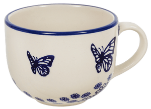 Large Latte/Soup Cups (Butterfly Garden)