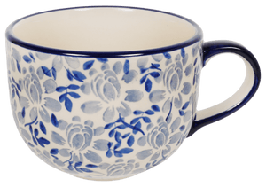 Large Latte/Soup Cups (English Blue)
