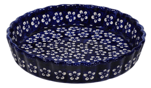 Medium Quiche Dish (Modern Blue)