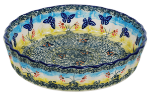The Small Quiche Dish (Butterflies in Flight)