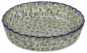 The Small Quiche Dish (Floral Revival Pastel)
