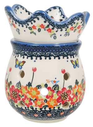 Aroma Therapy Fragrance Warmer (Butterfly Fields)