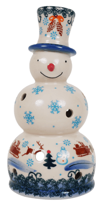 Snowman Luminary (USB)